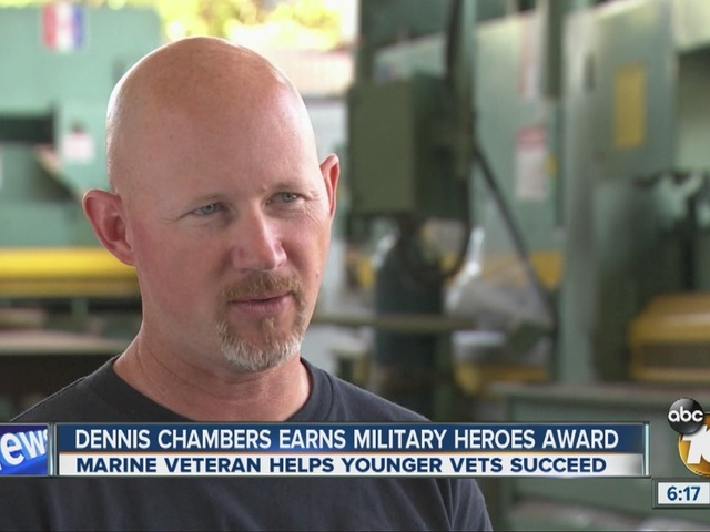 Salute to Military Heroes: Dennis Chambers