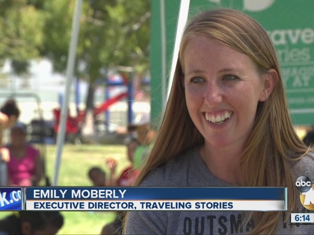 10News Leadership Award Recipient Emily Moberly