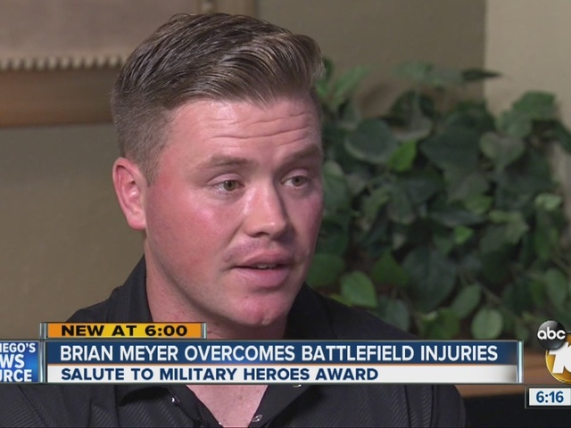 Salute to Military Heroes: Brian Meyer