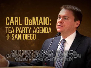 Ad implies DeMaio will cut student loans