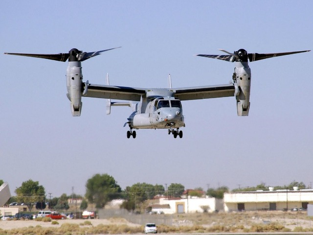 Miramar Based Osprey Makes Precautionary Landing 10news