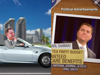 Attack ads continue as election looms