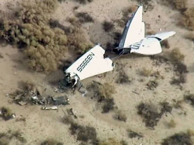 aGupieWare: Virgin Galactic's SpaceShipTwo Has Crashed