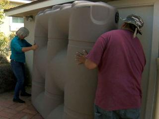 San Diegans saving water during drought