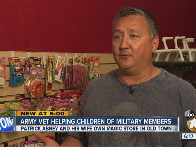 Salute to Military Heroes: Patrick Abney