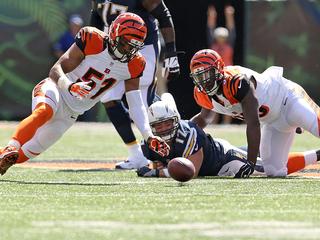 IMAGES: Chargers vs. Cincinnati Bengals