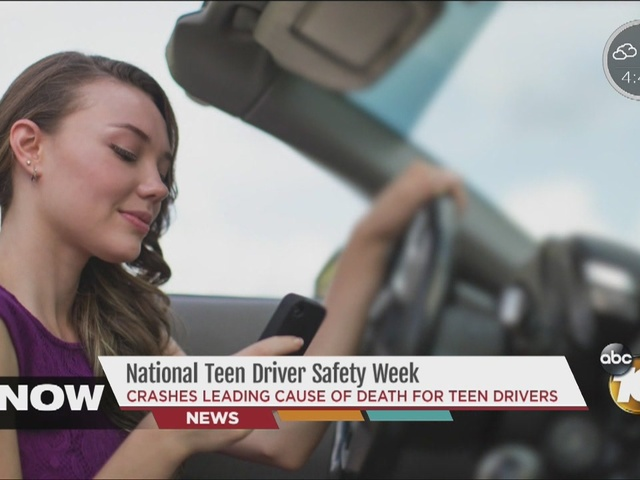 Crashes are leading cause of death for teen drivers