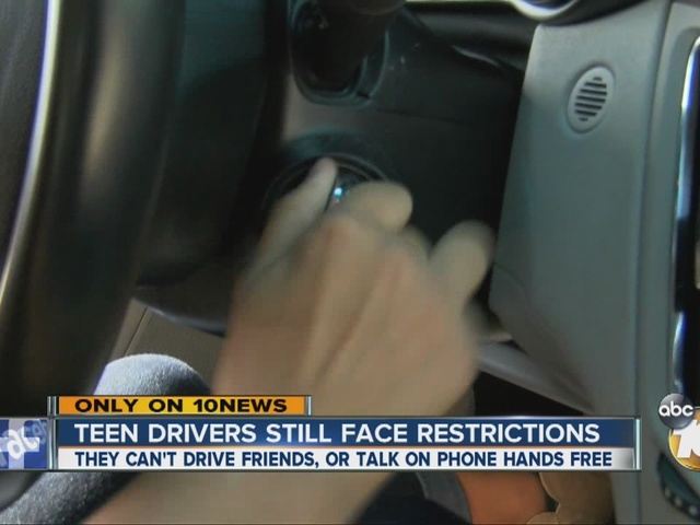 Teen drivers still face restrictions