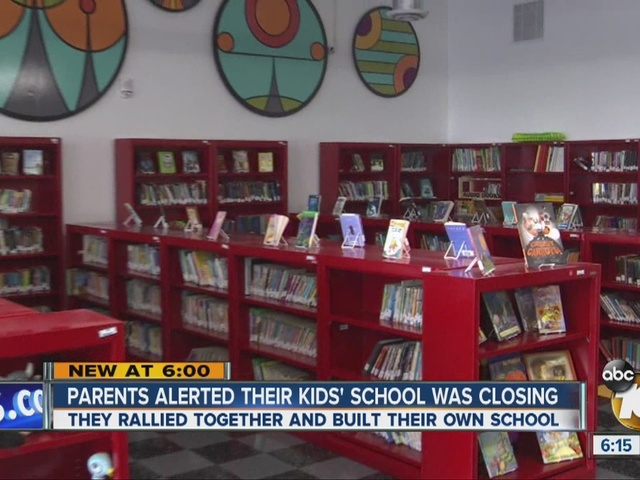 10News Leadership: Parents alerted their kids' school was closing builds…