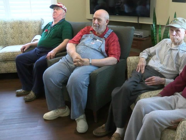 Powerful Ceremony Brings Veterans Day To Vets At Assisted