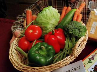 Fall and winter veggies