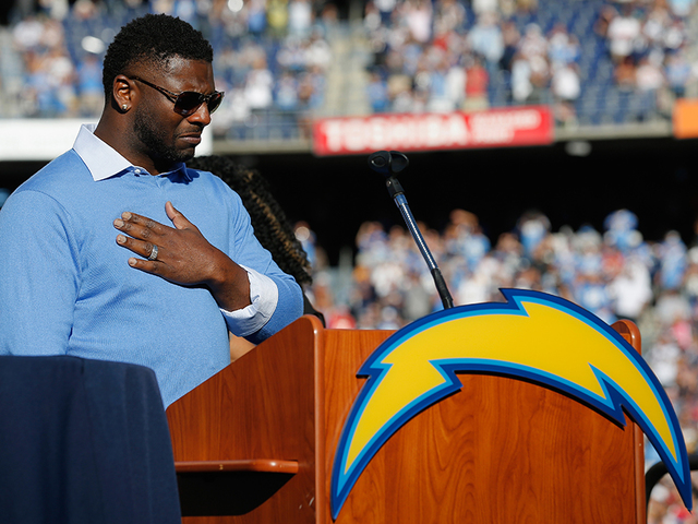 LaDainian Tomlinson up for Hall of Fame entry