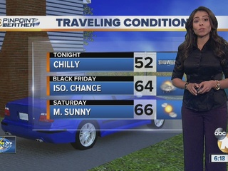 Forecast: Chilly, blustery with showers & surf