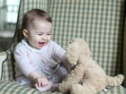 Palace releases photos of Princess Charlotte