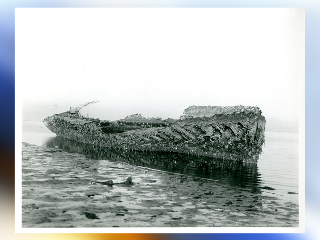 El Ni 241 O Storms Low Tides Reveal Sunken Ship 10news Com