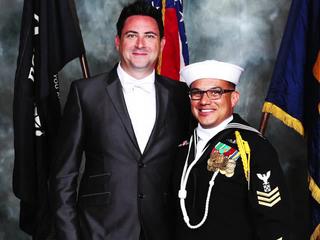 Sailor's husband reacts to award nomination