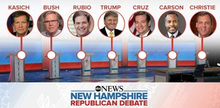 WATCH LIVE: New Hampshire GOP Debate