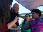 Father & daughter donate iPads to OB school
