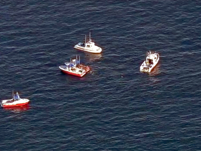 Search for possible survivors of midair crash suspended 10news com