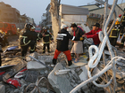 At least 3 dead after strong quake in Taiwan