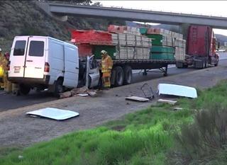 Driver killed in I-8 wreck near Alpine