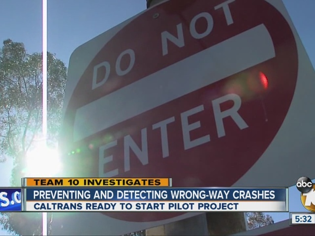 Team 10: Preventing and detecting wrong-way crashes