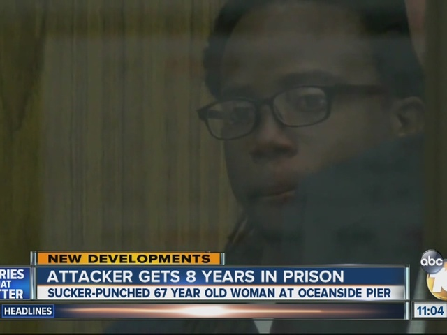 Attacker gets 8 years in prison