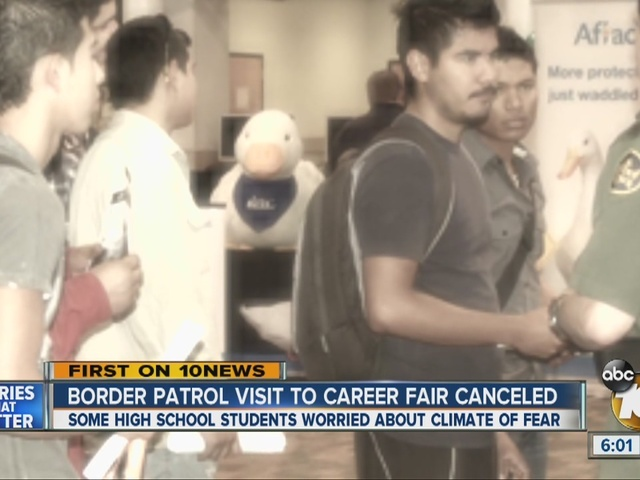 Border Patrol visit to career fair at local school canceled