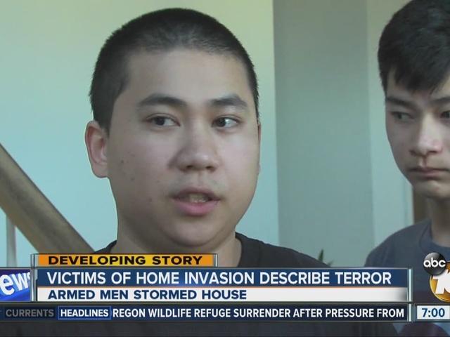 Victims of home invasion describe terror