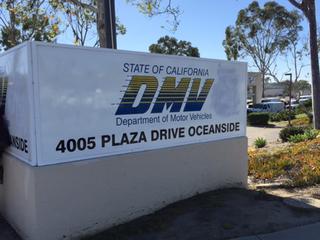 Oceanside DMV evacuated, bomb squad called in