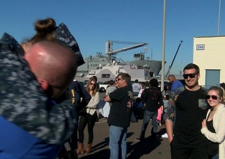 4,500 sailors, Marines deploy from SD