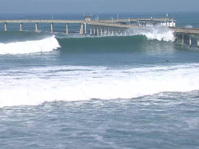 'Wicked awesome waves' at the coast this weekend