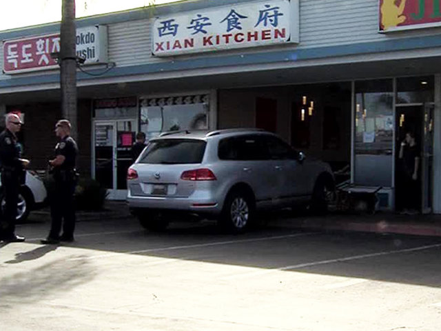 Suv Crashes Into Kearny Mesa Area Chinese Restaurant Chef