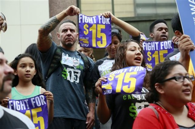 Labor pans California minimum wage proposal