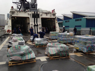 Coast Guard offloads 39K pounds of cocaine in SD
