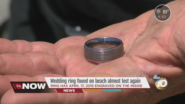 ring has april 17 2015 engraved on inside - Lost Wedding Ring