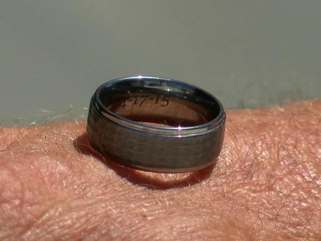 wedding ring found on beach almost lost again 10newscom kgtv tv san diego - Lost Wedding Ring