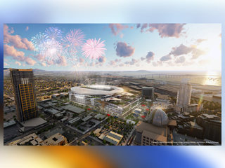 Chargers reveal 'convadium' project renderings