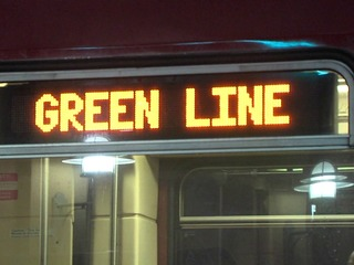 'There is a guy masturbating on the Green Line'