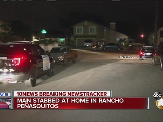 Man allegedly stabbed by neighbor