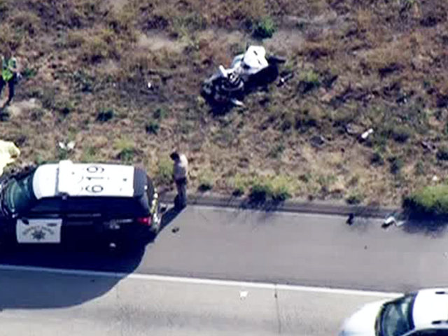 Motorcyclist killed in I-5 crash; woman arrested
