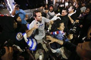 Violence follows Trump OC rally, 20 arrested