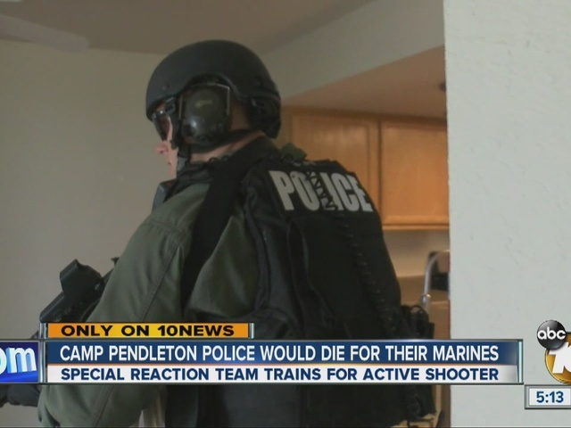 Camp Pendleton Police would die for their Marines