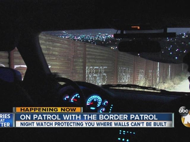 On patrol with the Border Patrol