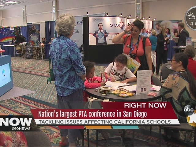 Nation's largest PTA conference in San Diego