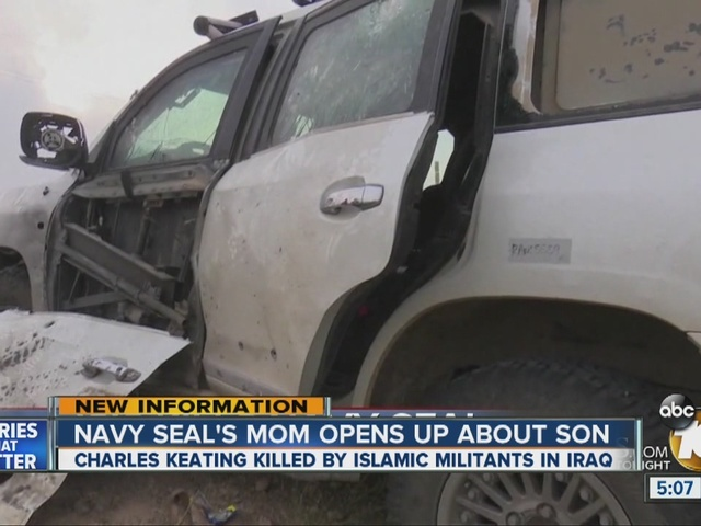 Navy Seal's mom opens up about son