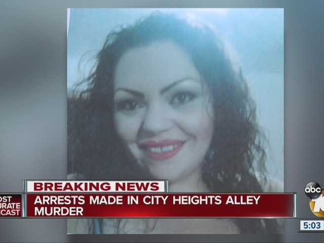 Arrests made in City Heights alley murder