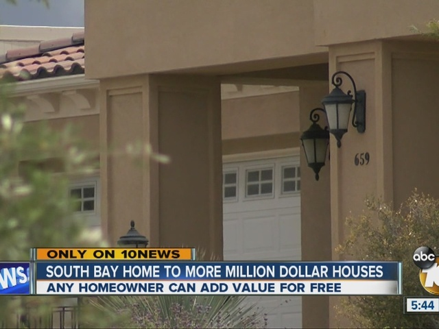 South Bay home to more million dollar houses