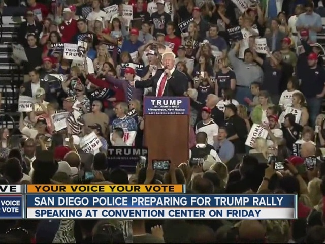 Trump, Clinton to speak in Orange Co. Wednesday