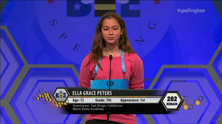 Local 7th grader now focused on next year's Bee